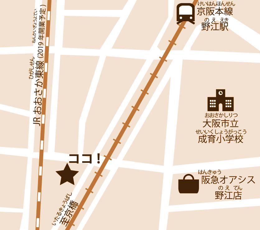 cocoaruの地図